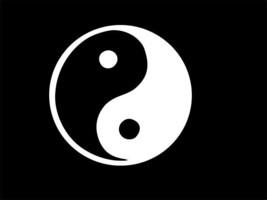 YIN YANG Taoism Eastern, Vinyl Decal, high quality, white, CHOOSE SIZE - $2.58+