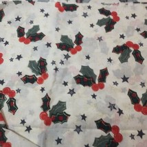 "3 Yards Tis the Season JoAnn Fabrics 42"" Cotton Christmas  - $15.47"
