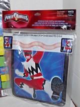 Power Rangers Birthday Party Game & 2 Honeycomb Decorations Hallmark New (e) - $17.41