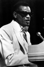 Ray Charles Iconic On Piano 18x24 Poster - $23.99