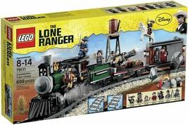 LEGO 79111 The Lone Ranger Constitution Train Chase Disney 690 pcs Brand... - $247.40