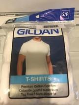 """2 Men's Gildan T-Shirt Premium Cotton Comfort Size S/P    34""""-36""""   86-9... - $9.89"""