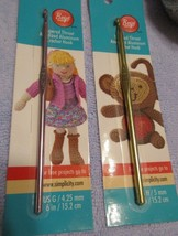Simplicity Large Crochet/Knitting Needles for Scarves 4.25mm 5.0mm Set of 2 - $12.40 CAD