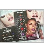Beauty box mixed samples Urban Decay & Kat Von D for lips & eyes + Sepho... - $17.82