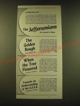 1951 The Macmillan Company Ad - A pioneering work - $14.99