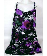 Lane Bryant Women's Spaghetti Strap Summer Dress Size 26 Floral Pattern - $33.85