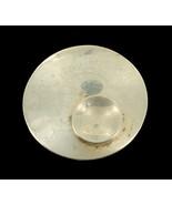 Vintage Sterling Medio Secolo Moderno Sfera Orb Pin Fatto a Mano Da Nort... - $179.99