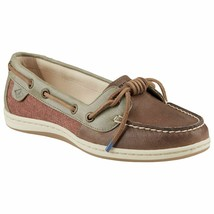 Sperry Womens Barrelfish Boat Shoe Rust Size 8 #NJBII-386 - $69.99
