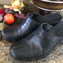 Naturalizer Black clogs mules shoes - $19.80