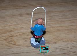 Single bulk pack Christmas decoration Village figurine girl w/ jump rope - $8.00