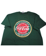 Coca-Cola Thirst Quenching Tee T-shirt Green 2X-Large 2XL - BRAND NEW - $18.07