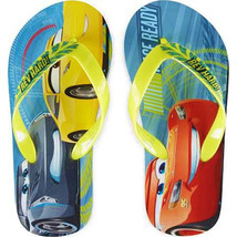 DISNEY CARS 3 McQUEEN & JACKSON Flip Flops w/ Optional Sunglasses Beach ... - $9.89+