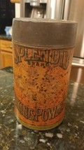 Vintage Old Paper Label Splendid Brand 1lb. Advertising Baking Powder Ti... - $21.60