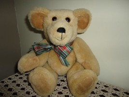 OOAK Artist Mary Lou Grant Handcrafted Sheep Wool Bear Bears With Flair ... - $64.60