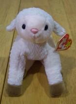 TY Beanie Baby EWEY THE LAMB Plush Stuffed Animal NEW - $15.35