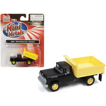 1960 Ford Dump Truck Black and Yellow 1/87 (HO) Scale Model by Classic M... - $25.12