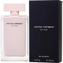 Narciso Rodriguez For Her 3.3 oz / 3.4 oz/100 ml EDP Spray New in box & Sealed . - $81.92