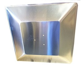 Hiland SGT Glass Tube Heat Shield, Pre Drilled Holes, Square - $34.78