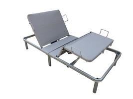 Allassea Gold Contur II Adjustable Steel Mattress Base with Auto Reverse... - $544.49