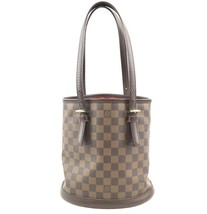 #31746 Louis Vuitton Bucket Marais Hobo Pm Tote Damier Ébène Canvas Shou... - $500.00