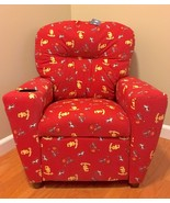Deluxe Kids Child Recliner Magnolia Furniture NFL USC Trojans Chair Red - $84.14