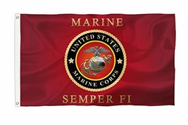 Bonsai Tree 3x5 Feet USMC Marine Corps Flag - Vivid Color and Fade Resis... - $29.55
