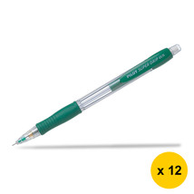 Pilot Super Grip H-185 0.5mm Mechanical Pencil (12pcs), Green, H-185-SL-G - $28.99