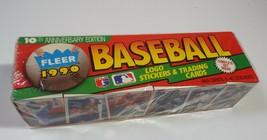 Fleer 1990 Baseball Complete Set 10th Anniversary Edition Sealed - $7.69