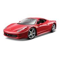 Maisto 1:24 Scale Assembly Line Ferrari 458 Italia Diecast Model Kit Col... - $34.98