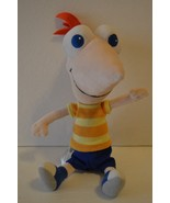"Disney Store Phineas Stuffed Plush Doll Toy 9/12"" - $8.99"