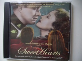 SWEETHEARTS, Barbara Russell & Ron Sharpe CD, Signed by Artists - $18.49