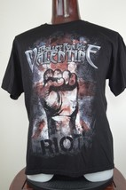 BFMV Bullet For My Valentine Riot Mens XL Black Graphic T Shirt Heavy Me... - $26.47