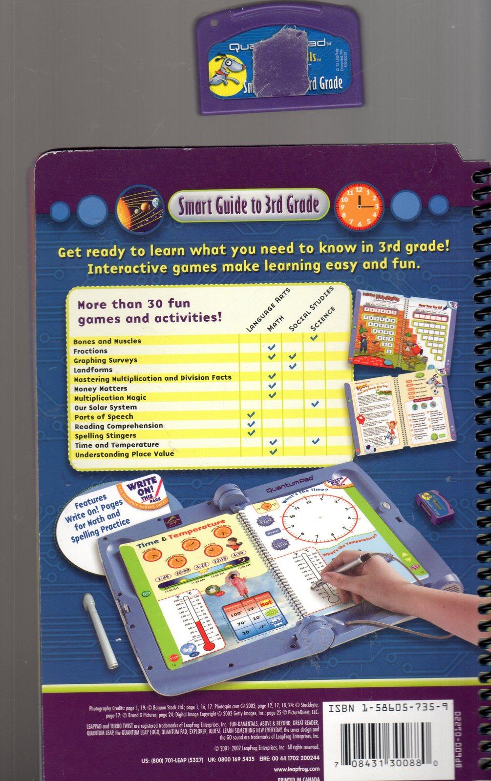 LeapFrog Quantum Pad - Smart Guide to 3rd Grade