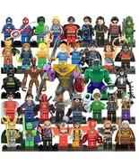 38 Comics Superhero Suits bulding block figures Thor Wolverine Hulk Lase... - $60.00