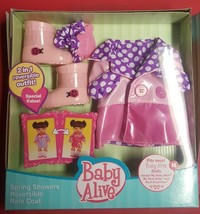 BABY ALIVE OUTFIT Spring showers  RARE NEW IN BOX - $47.99