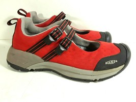 Keen Womens Shoes Mary Janes Straps Red Size 6.5 US, 37 EU 0706 S3 - $24.99
