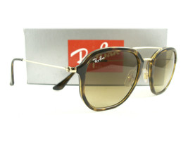 Ray-Ban Sunglasses RB4273 Tortoise Gold Brown 71085 New Authentic - $129.00