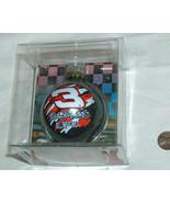 2003 NASCAR Dale Earnhardt #3 Trevco WC Glass Ball XMAS Christmas Tree O... - $9.88