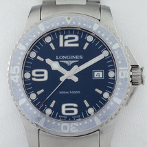 Longines Stainless Steel HydroConquest Men's Quartz Watch L36404 - $810.66