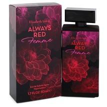 Always Red Femme by Elizabeth Arden Eau De Toilette Spray 1.7 oz for Women - $18.95
