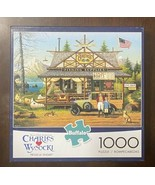 Buffalo Games Charles Wysocki - Proud Lil' Angler 1000 PC Puzzle w/ Post... - $15.59