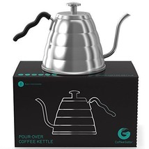 Coffee Kettle 1.2 LITER THERMOMETER Built in Coffee Gator Hand Drip From... - £71.21 GBP