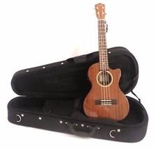Lanikai MAS-CET Solid Mahogany Electric Acoustic Cutaway Tenor Ukulele w... - $369.00
