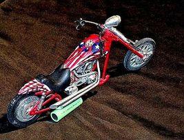 Chopper Motorcycle Figurine Replica 305-BVintage image 6