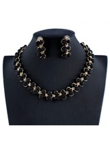 Women's 3Pcs Jewelry Set Necklace Earring Set For The Dress Accessories ... - $15.99