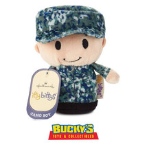 Camo Boy Hallmark itty bitty bittys Military Army Marine Navy Veteran Bl... - £10.55 GBP