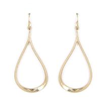 Gold Teardrop Fashion Dangle Earrings For Women Everyday Stylish Trendy ... - $12.03