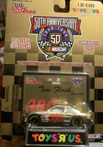 Toys R Us 1998 Tim Flock 1:64 Scale Die Replica With Card And Display Stand - $4.95