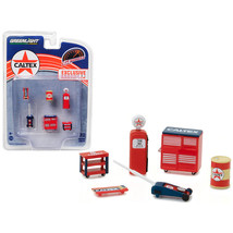 Greenlight Muscle 6pc Set Shop Tools Caltex 1/64 by Greenlight 13159 - $15.32