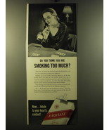 1950 Embassy Cigarettes Advertisement - $14.99